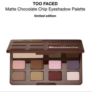 Too Faced Chocolate Chip Matte Eyeshadow